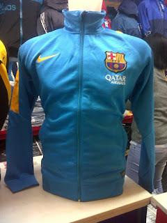 gambar desain terbaru jaket barcelona musim depan foto photo kamera Jaket Barcelona third terbaru warna biru tosca musim 2015/2016 di enkosa sport toko online terpercaya lokasi di jakarta pasar tanah abang terpercaya