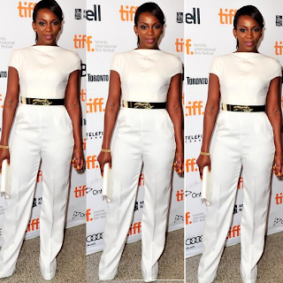 Fashion Face off ; Tonto Dike Vs Genevieve Nnaji Who Wore The Whi