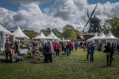 garden show malmö windmill sweden scandinavia