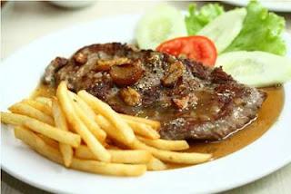 Món ăn ngon: bò bít tết