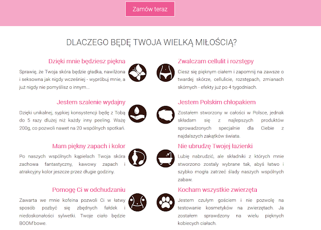 Mój polski chłopak♥ Body Boom czyli peeling kawowy