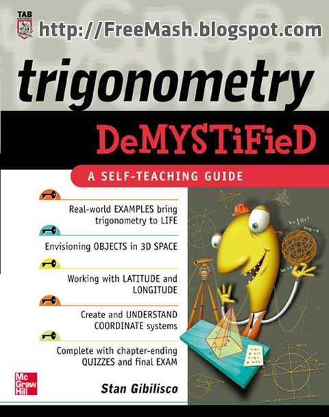 Trigonometry DeMYSTiFieD Hard stuff made easy PDF Ebook Free Download