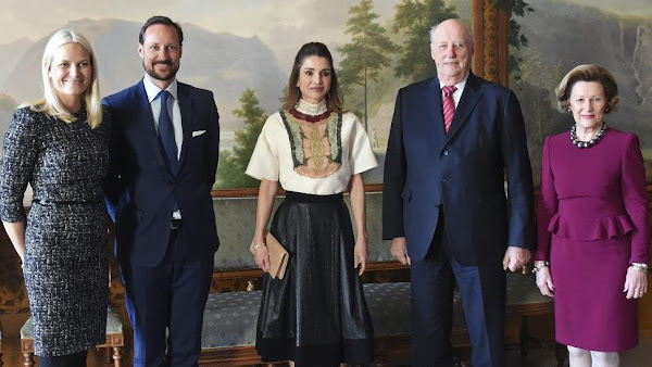 Queen Rania Visited Royal Family of Norway | Newmyroyals ...