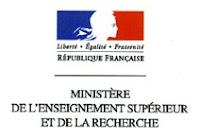 Ministère de l'Enseignement Supérieur et de la Recherche MESR