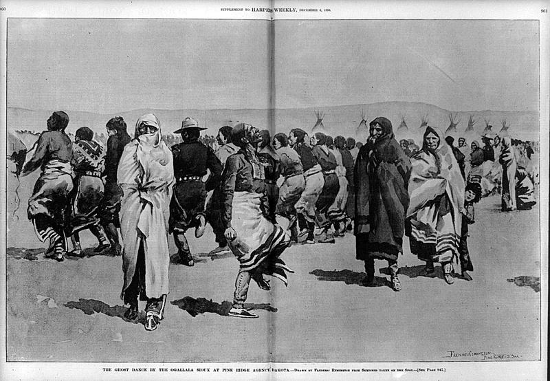 a look at the ghost dance as practiced by paiute shaman Noted in historical accounts as the ghost dance of the nevada paiute in 1889 the practice swept throughout american shaman wovoka and the ghost dance :.
