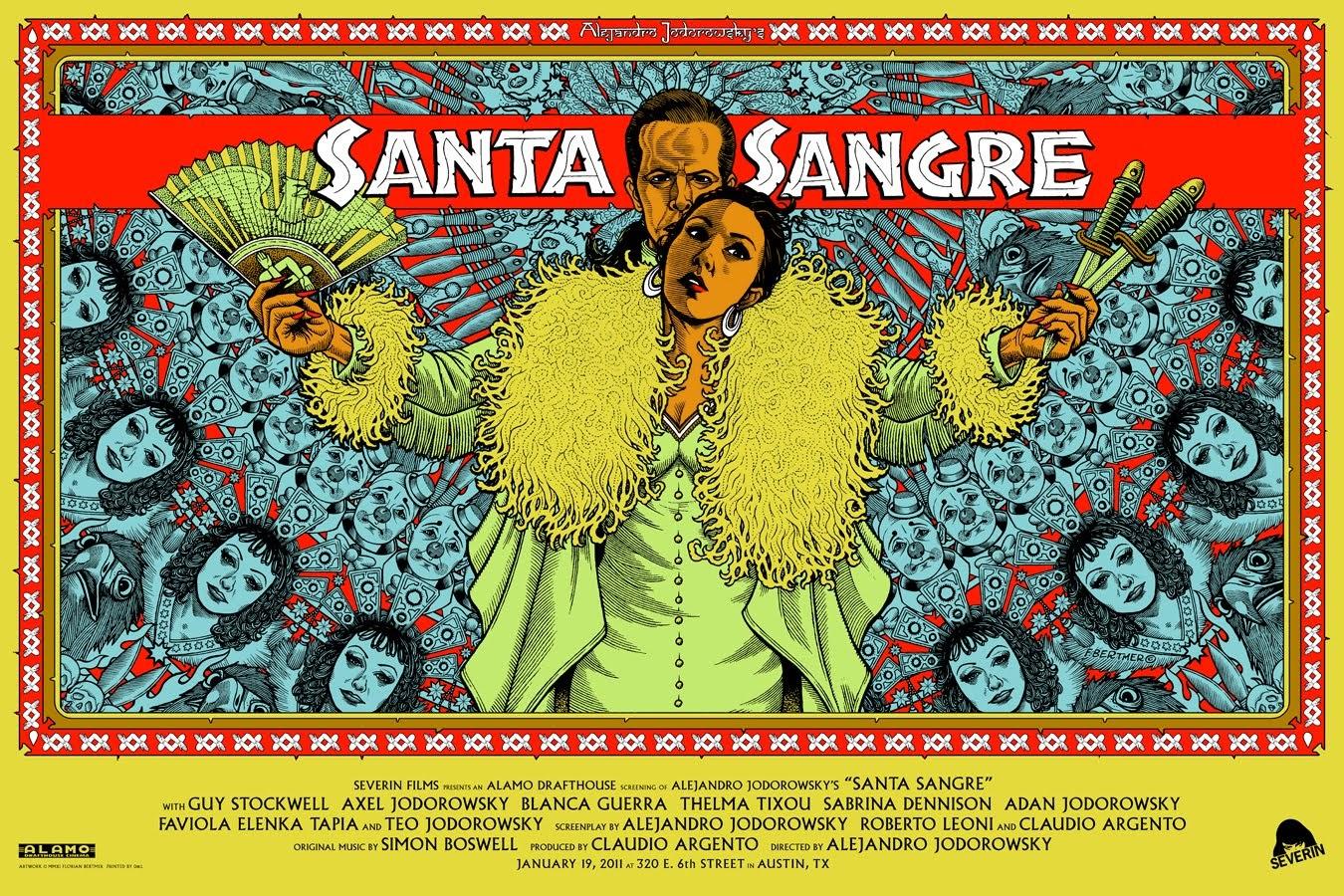 "Vea Gratis ""Santa Sangre"" De Alejandro Jodorowsky"