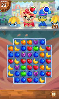 Screenshots of the Juice jam for Android tablet, phone.