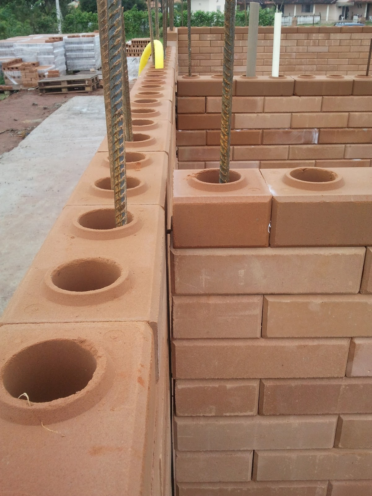 Construindo e Ampliando com Tijolo Solo cimento / Ecológico: Erros #704834 1200x1600 Banheiro Com Tijolo Ecologico