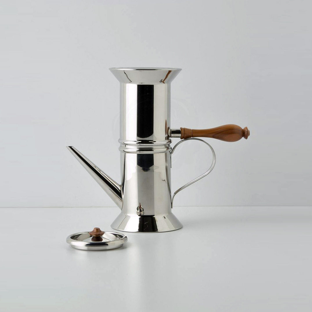 Italian 1979 Neapolitan Stainless Coffee Maker Makers 18 10 Steel