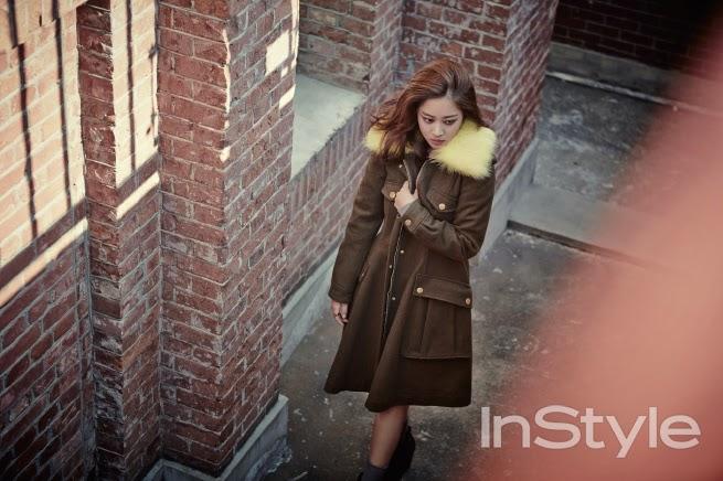 Jo Bo Ah - InStyle Magazine November Issue 2014