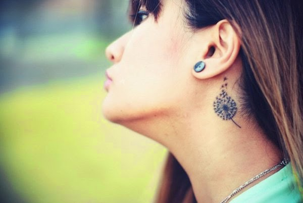 tatuajes de dientes de león