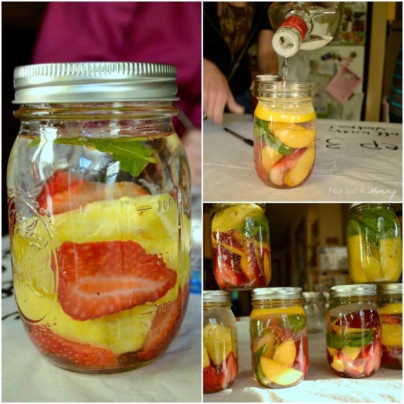 It's Hip to be Square with Chinet® House Party GNO fruit infused vodka