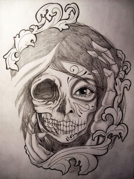 Plantillas y Diseños de Tatuajes Mundo Piercing Quibdo: Angel Girl ...
