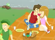 juegos de besos picnic de besos