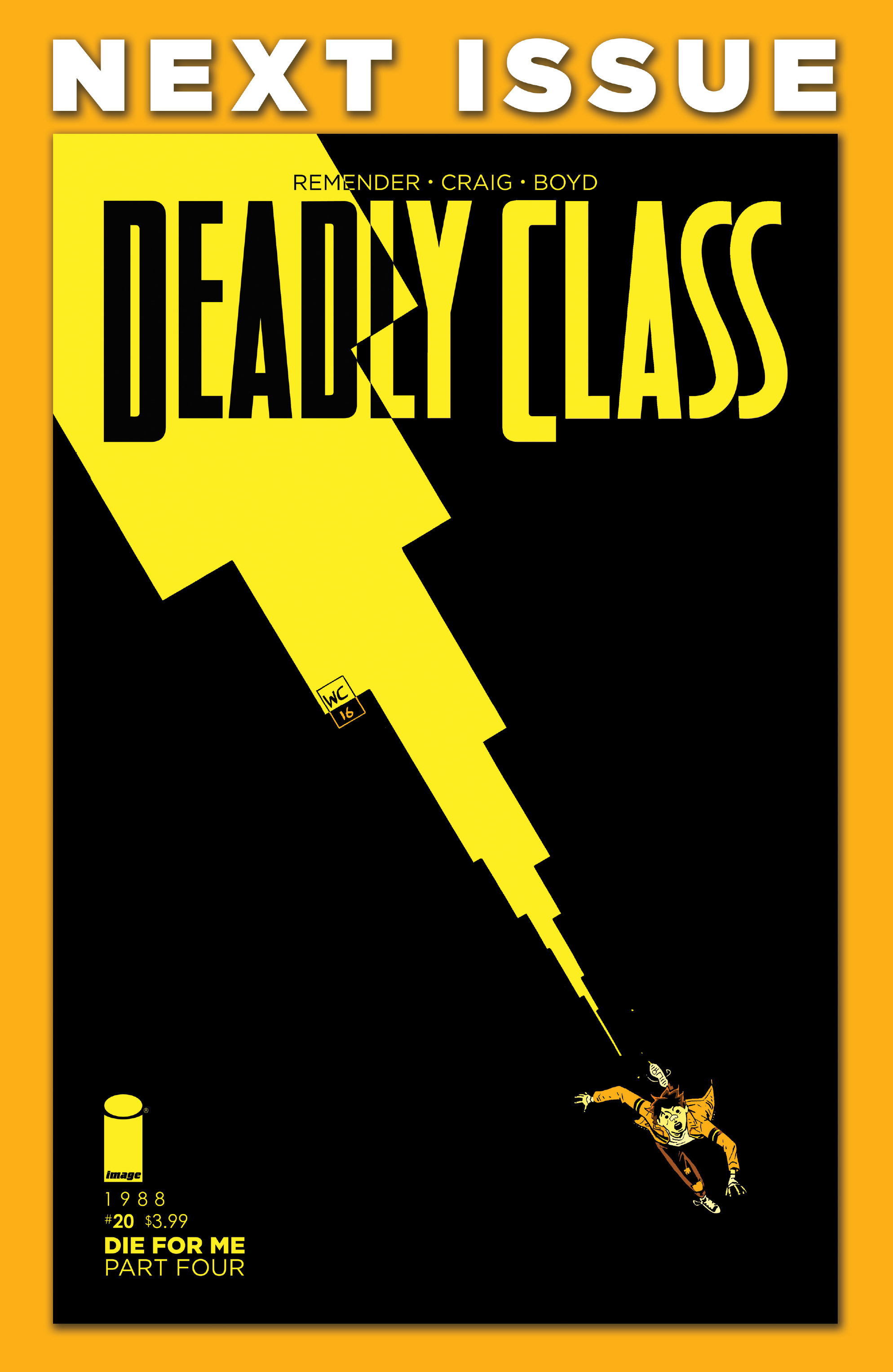 Read online Deadly Class comic -  Issue #19 - 30
