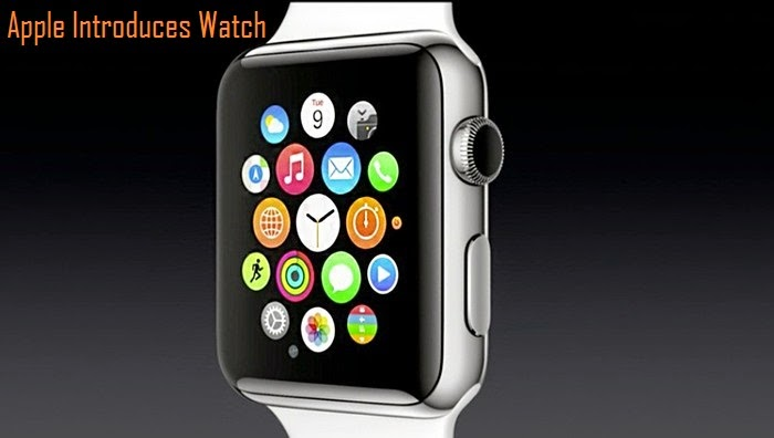 Apple Announces Wearable Watch