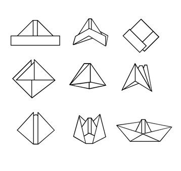 Paper Boat Designs Online News Icon