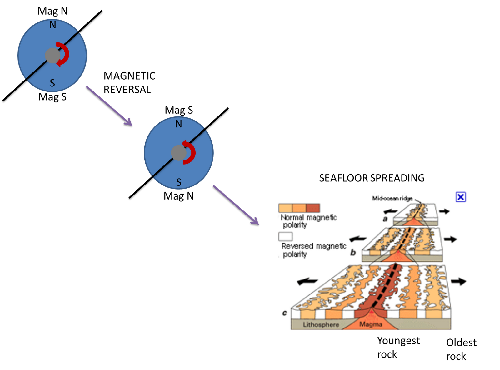 magnetic field reversal dating Magnetic reversal a strength of the magnetic field are taken along sections of a calendar of the earth's magnetic record dating back to as far as 150.