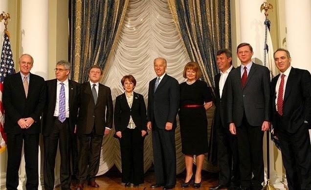 Boris Nemzow & Joe Biden