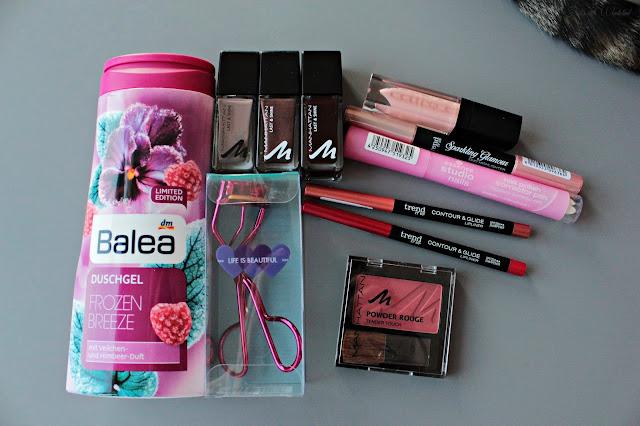 Beauty | xxl Shoppingausbeute - balea, manhattan, beautypost, josie´s little wonderland, nails, lipliner, eyeshadow, shampoo, conditioner