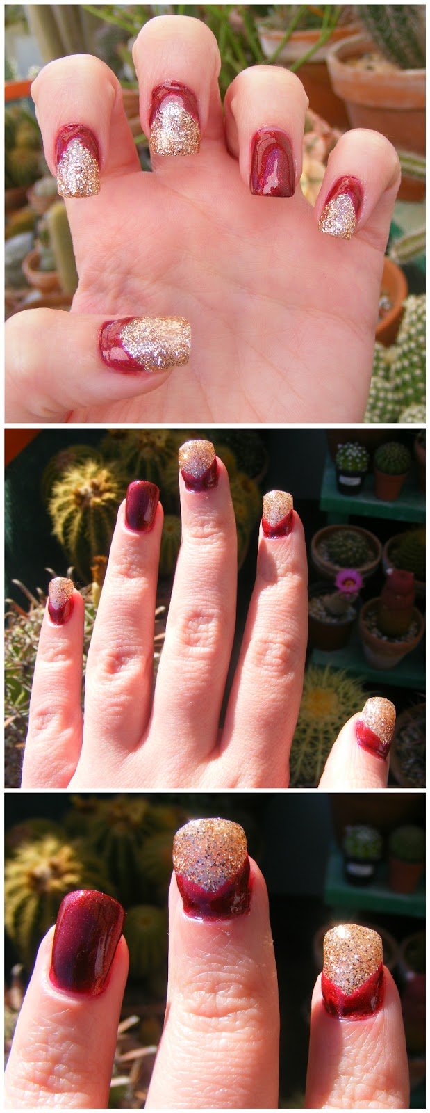 Cosette\'s Beauty Pantry: Nails Of The Day (NOTD): Revamped gel manicure