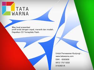Desain company profile presentasi dengan program flash, praktis dan