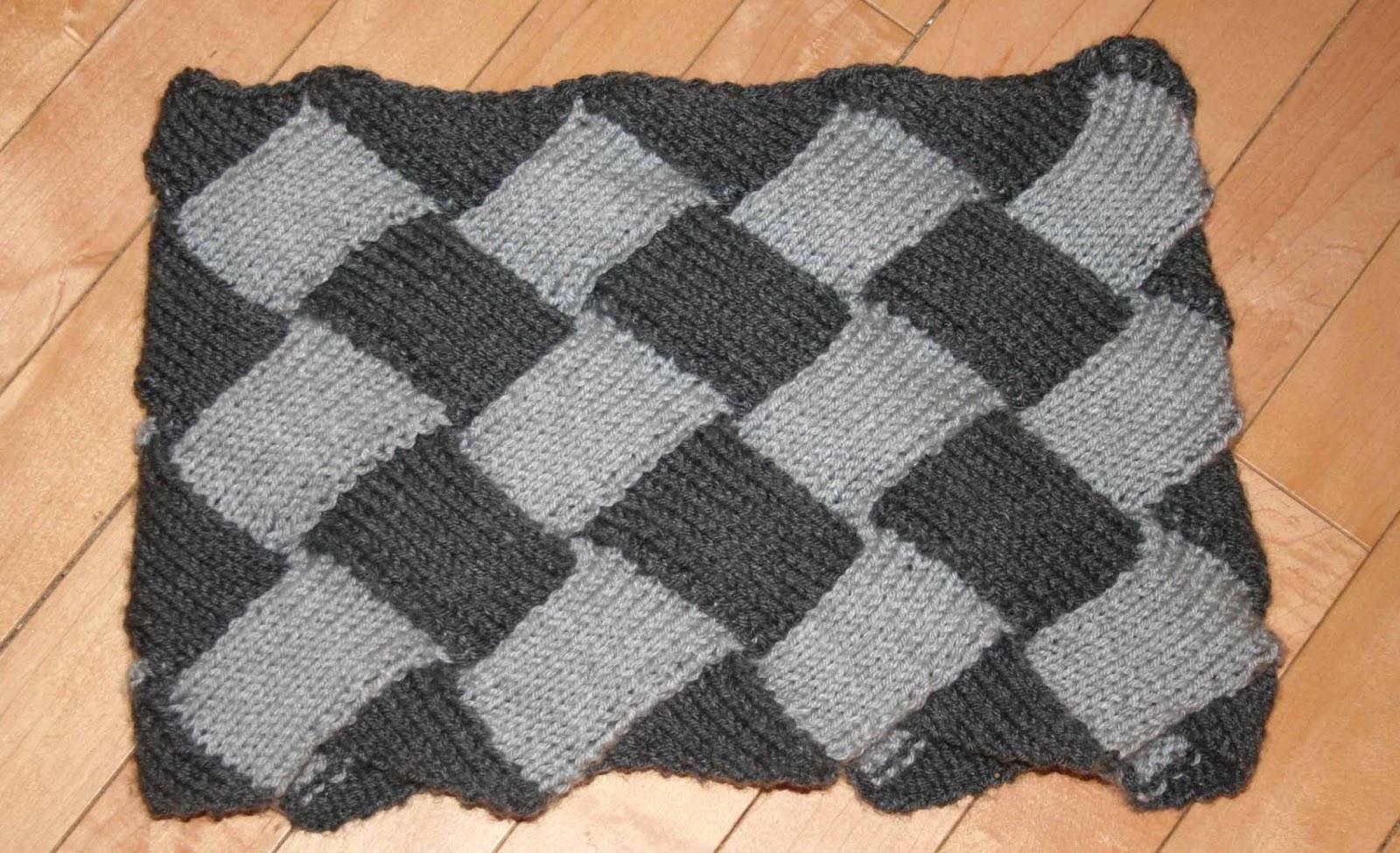 Entrelac Cowl Knitting Pattern : stvital: Entrelac Shawl/Cowl