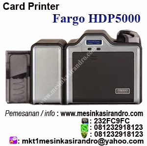 card printer fargo hdp5000