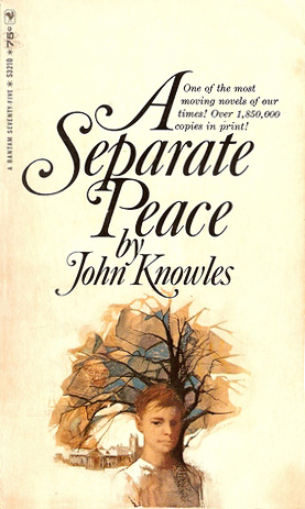 a separate peace character traits As they read a separate peace, ask them to compare their own experiences with those of the characters in the novel  or character for the cover.