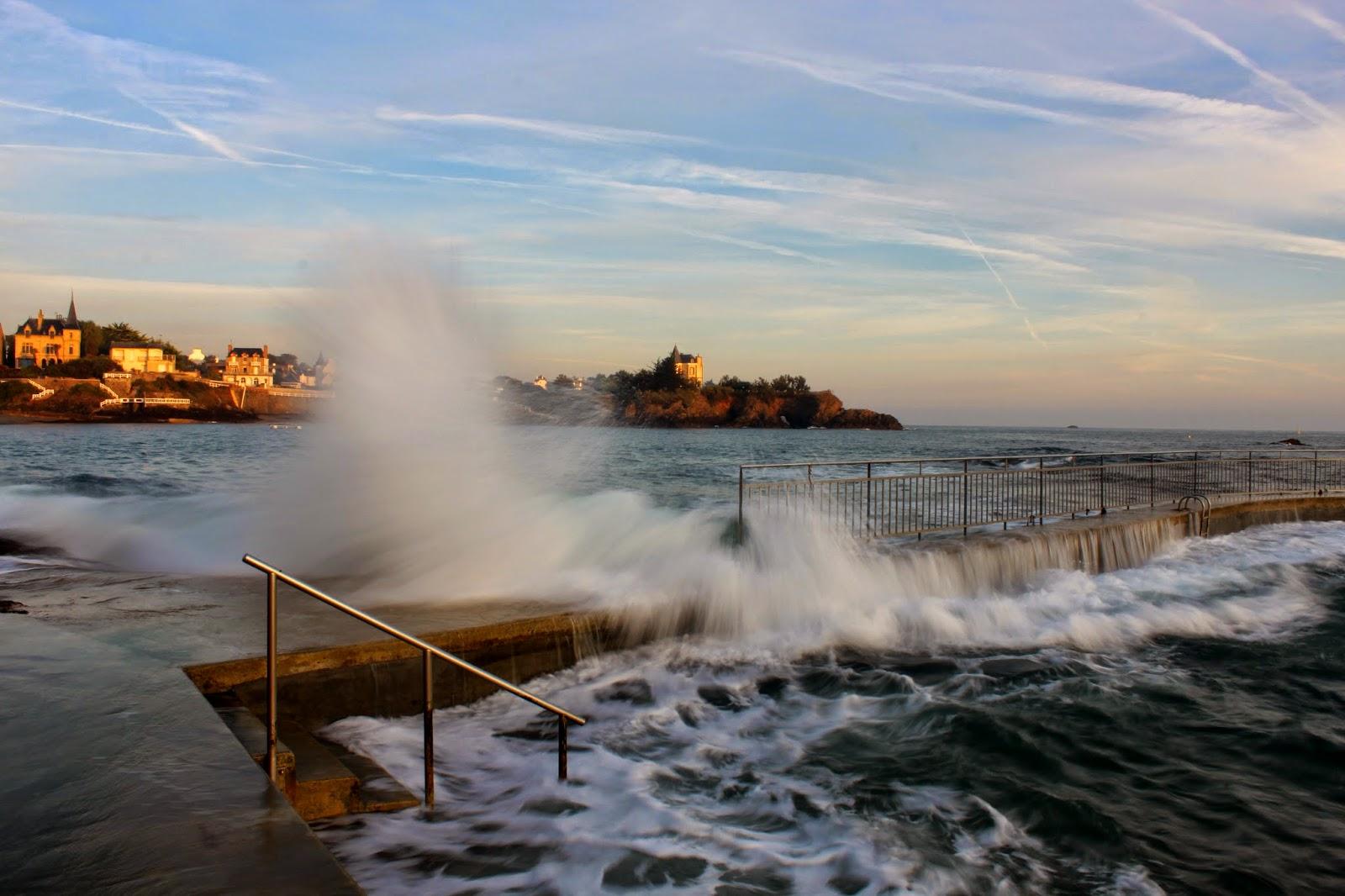 La marée monte à Saint Quay Portrieux