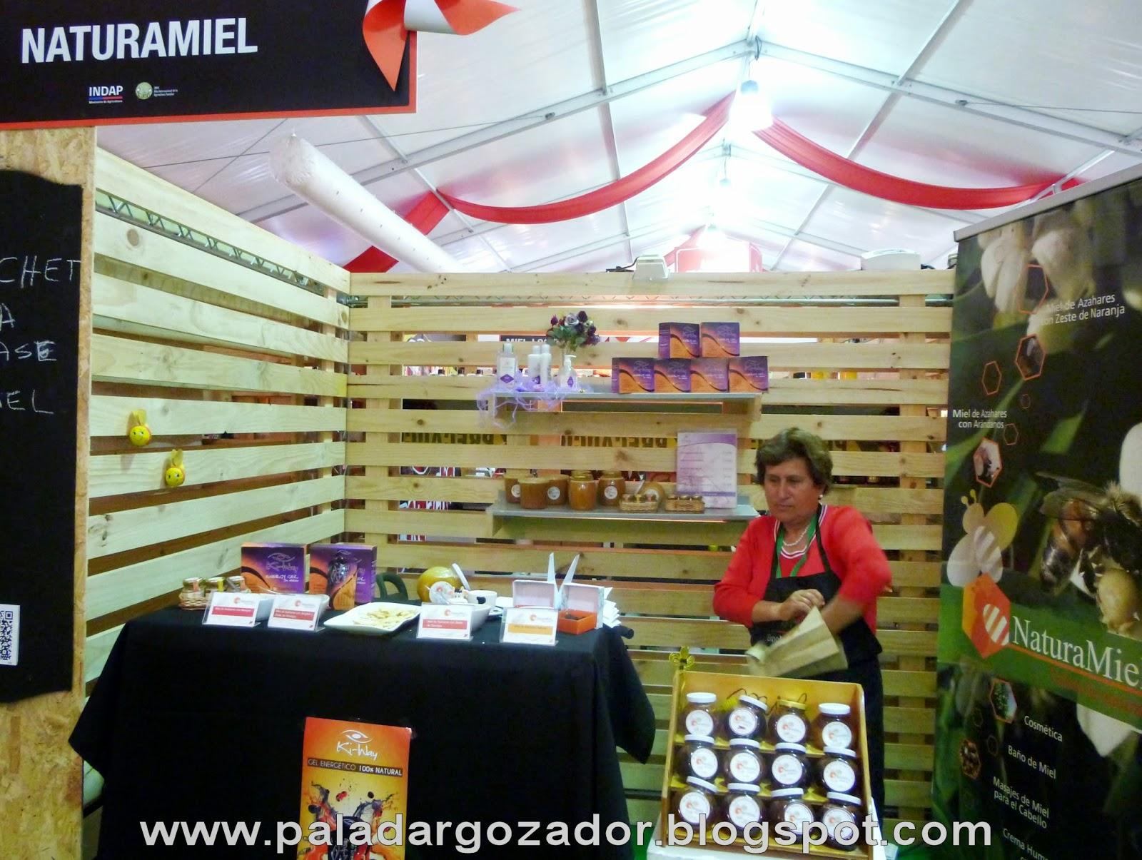 Stand expo rural Naturamiel