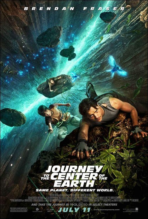 Viaje al centro de la Tierra (Journey to the Center of the Earth 3D) (2008)