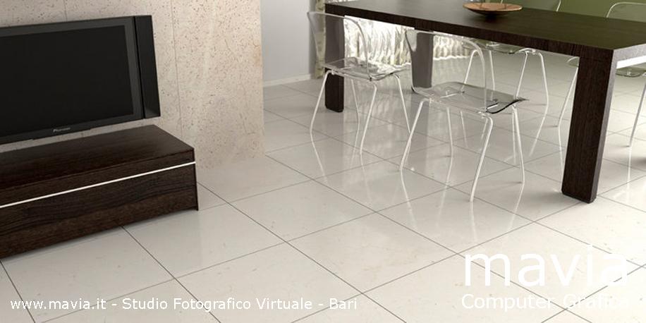 Arredamento di interni: Rendering pavimenti e rivestimenti in marmo,ambientazione di interni 3d ...