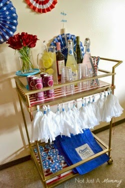 Memorial Day Drink Cart