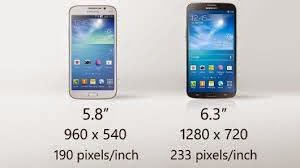 Ukuran Hp Android Samsung Galaxy Mega terbaru