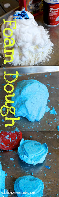 Foam Dough Play Dough