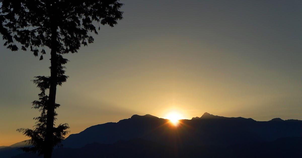 Sunrise in Alishan, Day 1&2 @ Taiwan 20-25 Feb 2013