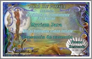 """PRESENCIA DE AUSENCIA"""