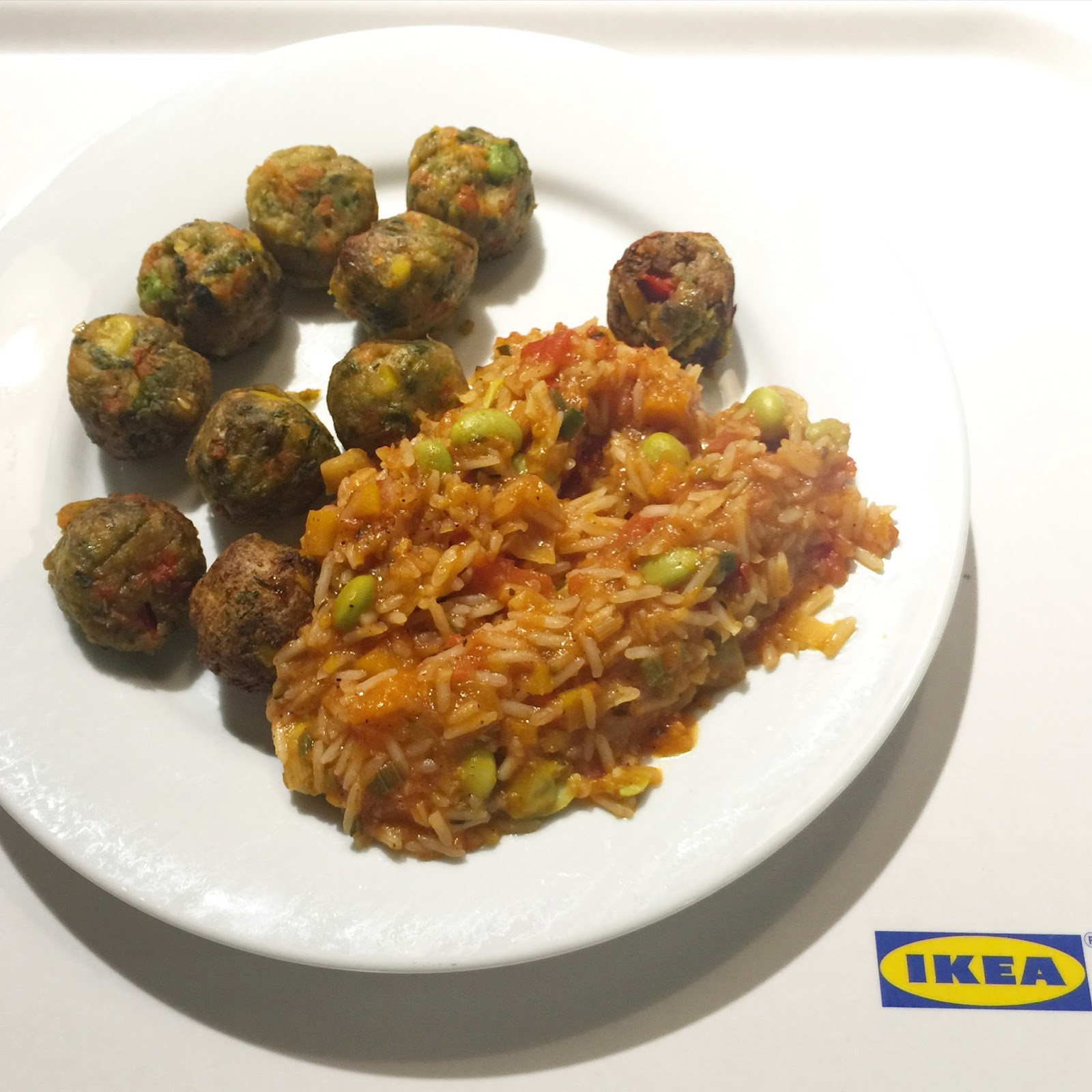 Ikea veggie balls the v nice life for Ikea vegetable balls