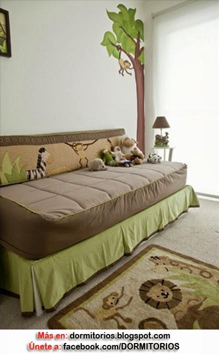 Dormitorios de bebes y ni os peque os - Habitaciones para ninos pequenos ...