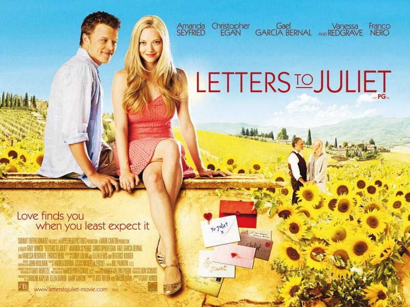 LettersToJuliet Quad - En son hangi filmi izlediniz ve Ka� Puan Veriyorsunuz..