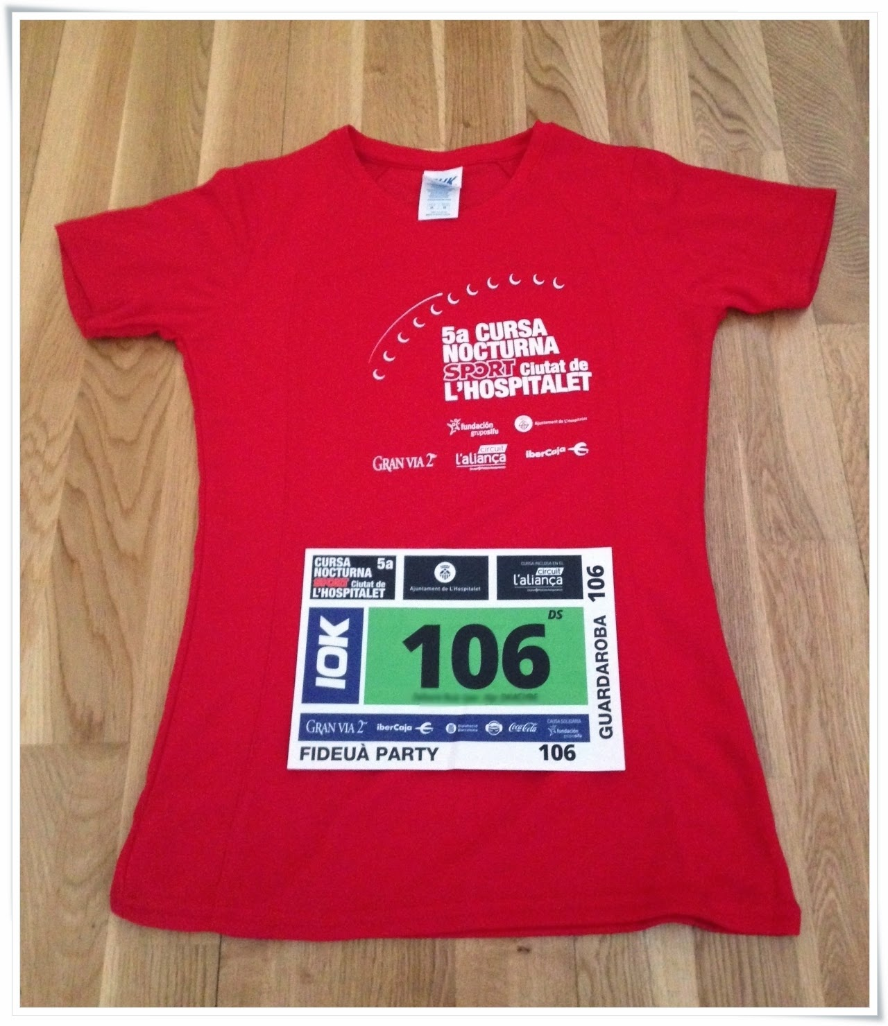 Cursa Nocturna l'Hospitalet 2014 camiseta