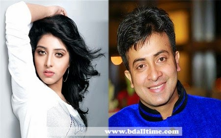 Singer Porshi acting with Shakib Khan