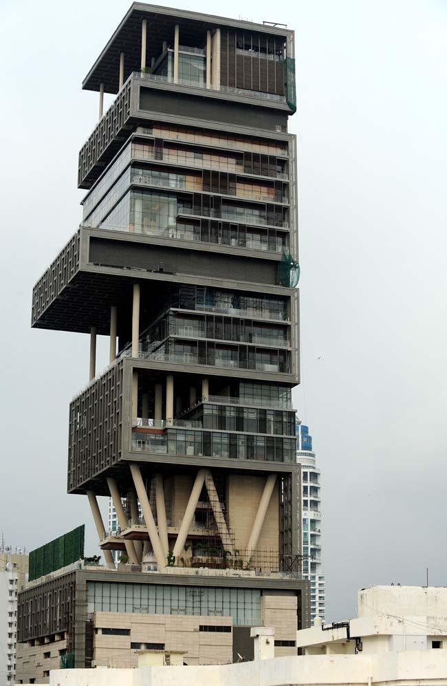 Image Design Pictures House Of Mukesh Ambani In Mumbai Photos