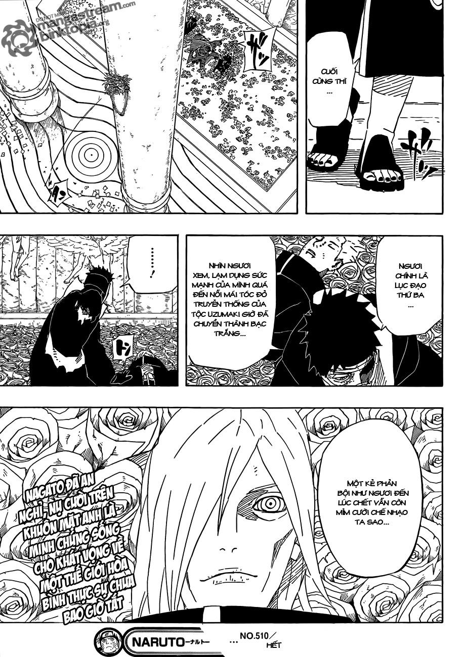 Naruto chap 510 Trang 16 - Mangak.info