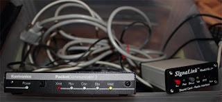 Kantronics Packet Communicator (KPC3) och en signalink SL1+ säljes
