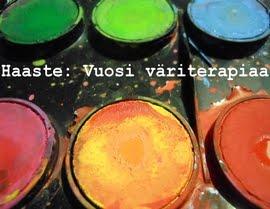 Mukana Vuosi Väriterapiaa-haasteessa!