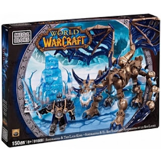Megabloks Arthas the Lich King and Sindragosa