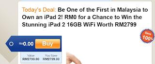 Peluang dapat iPad 2 free..