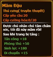 Chỉ số pet mầm đậu gunbao